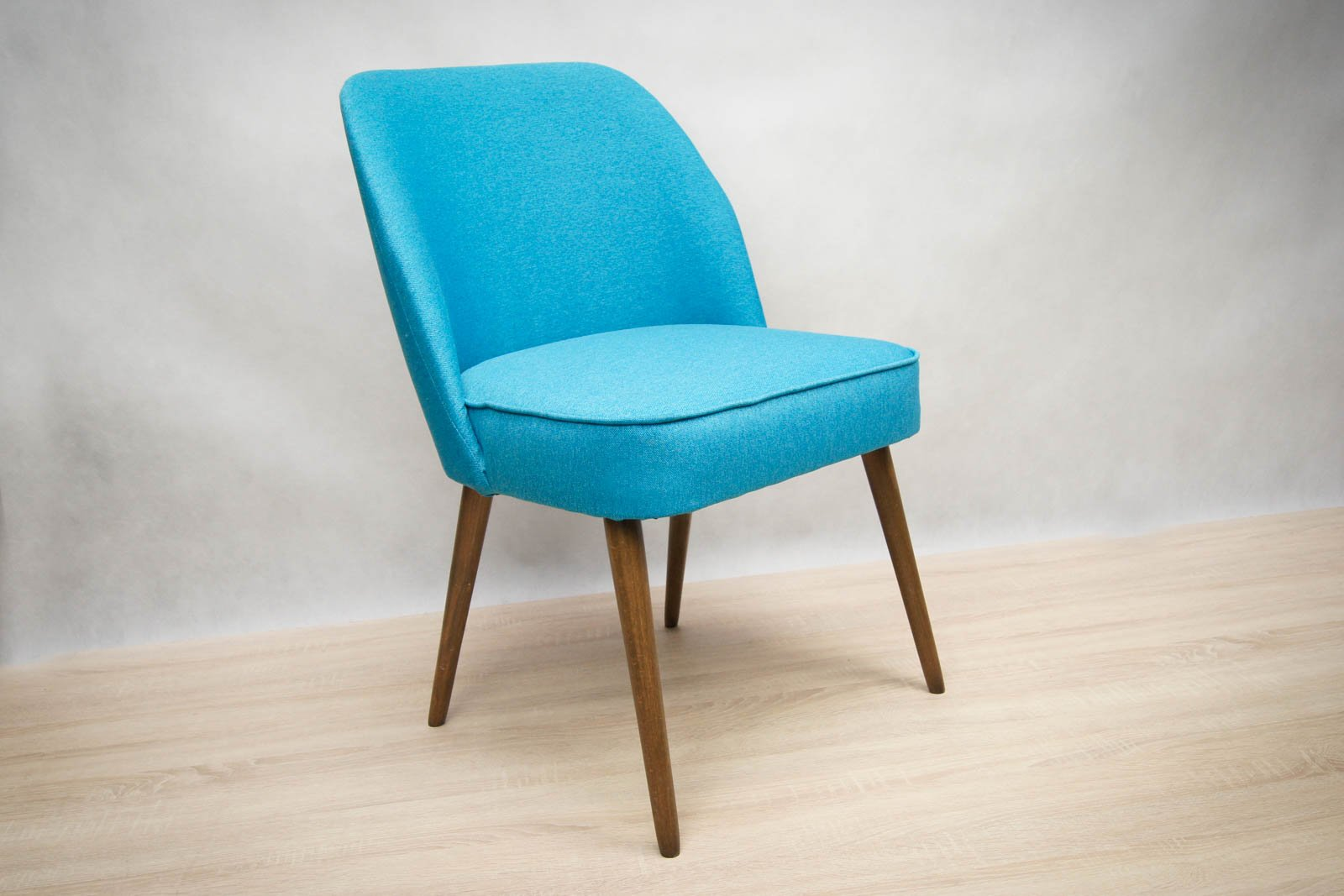 Kleine blaue cocktail sessel 1960er 2er set bei pamono for Kleine sessel design