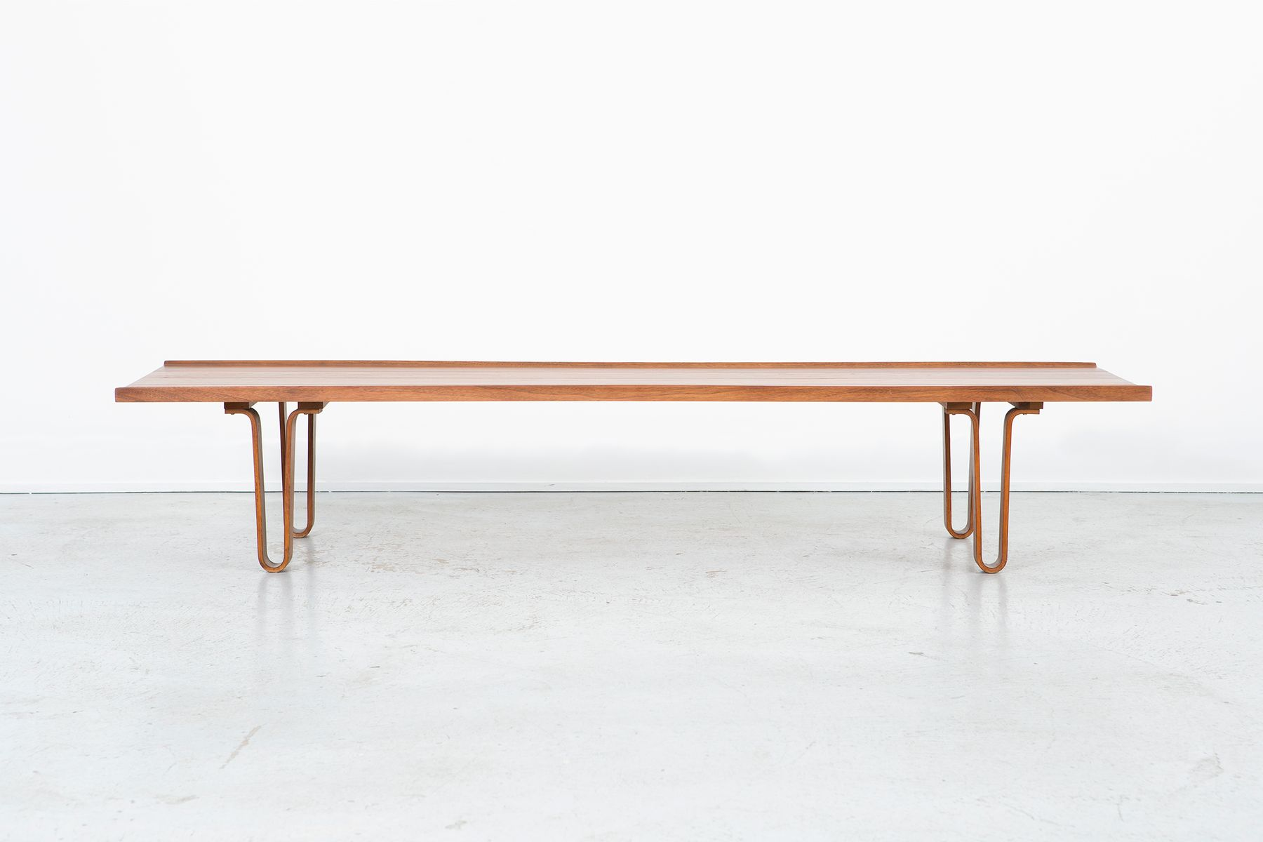 Vintage Long John Bench by Edward Wormley for Dunbar for sale at