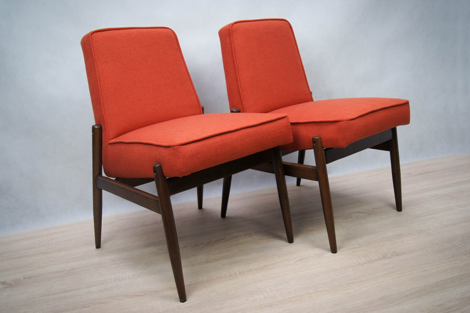 Chairs from zamo furniture factory 1960s set of 2 for for Furniture factory