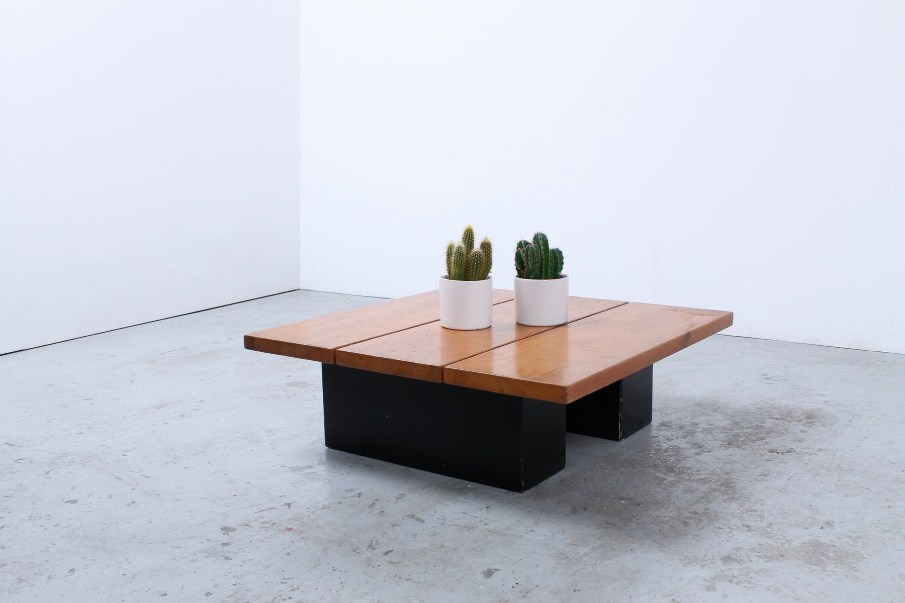 Finnish Low Coffee Table by Ilmari Tapiovaara for Laukaan Puu for