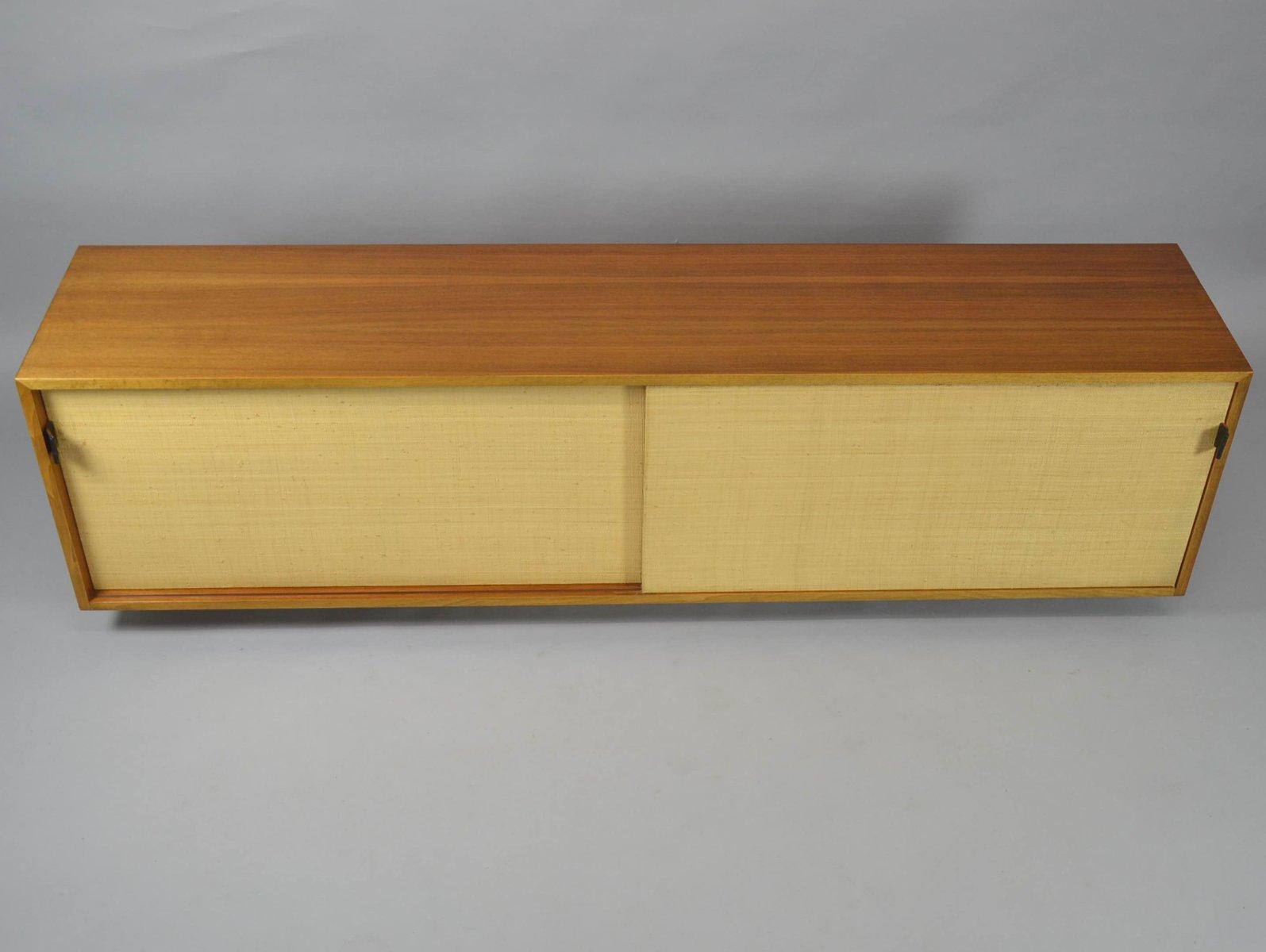 schwebender vintage schrank mit schiebet ren von florence. Black Bedroom Furniture Sets. Home Design Ideas