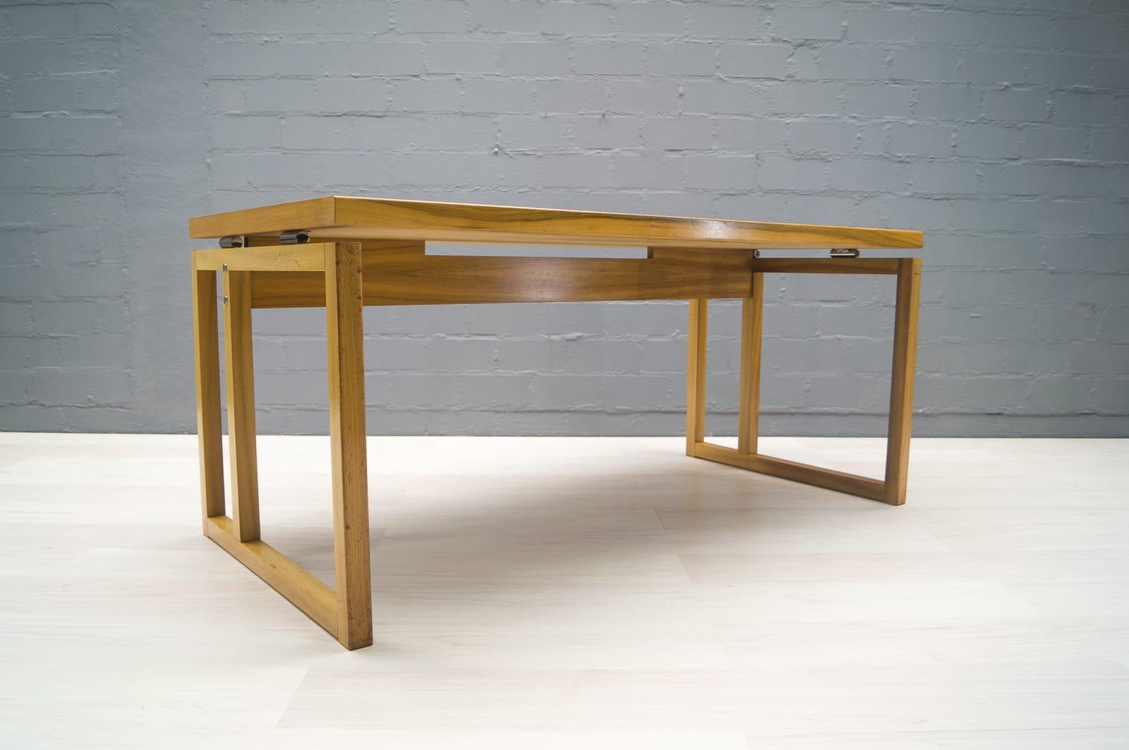 schreibtisch mit rollschubladen von wk m bel 1960er bei. Black Bedroom Furniture Sets. Home Design Ideas