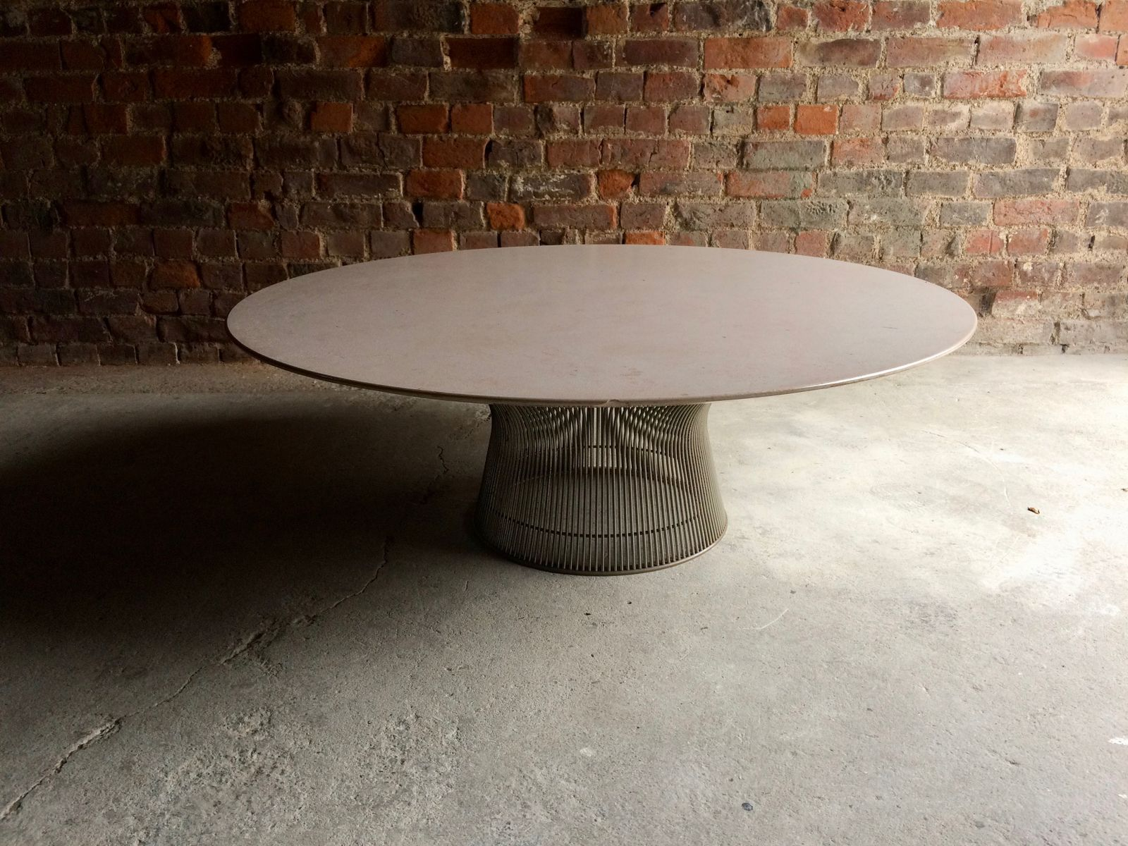 Marble Wire Coffee Table By Warren Platner For Knoll International 1960s For Sale At Pamono