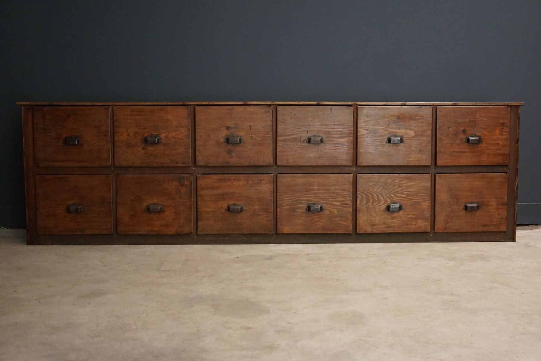 Large French Pine Apothecary Cabinet S For Sale At Pamono - Apothecary cabinet