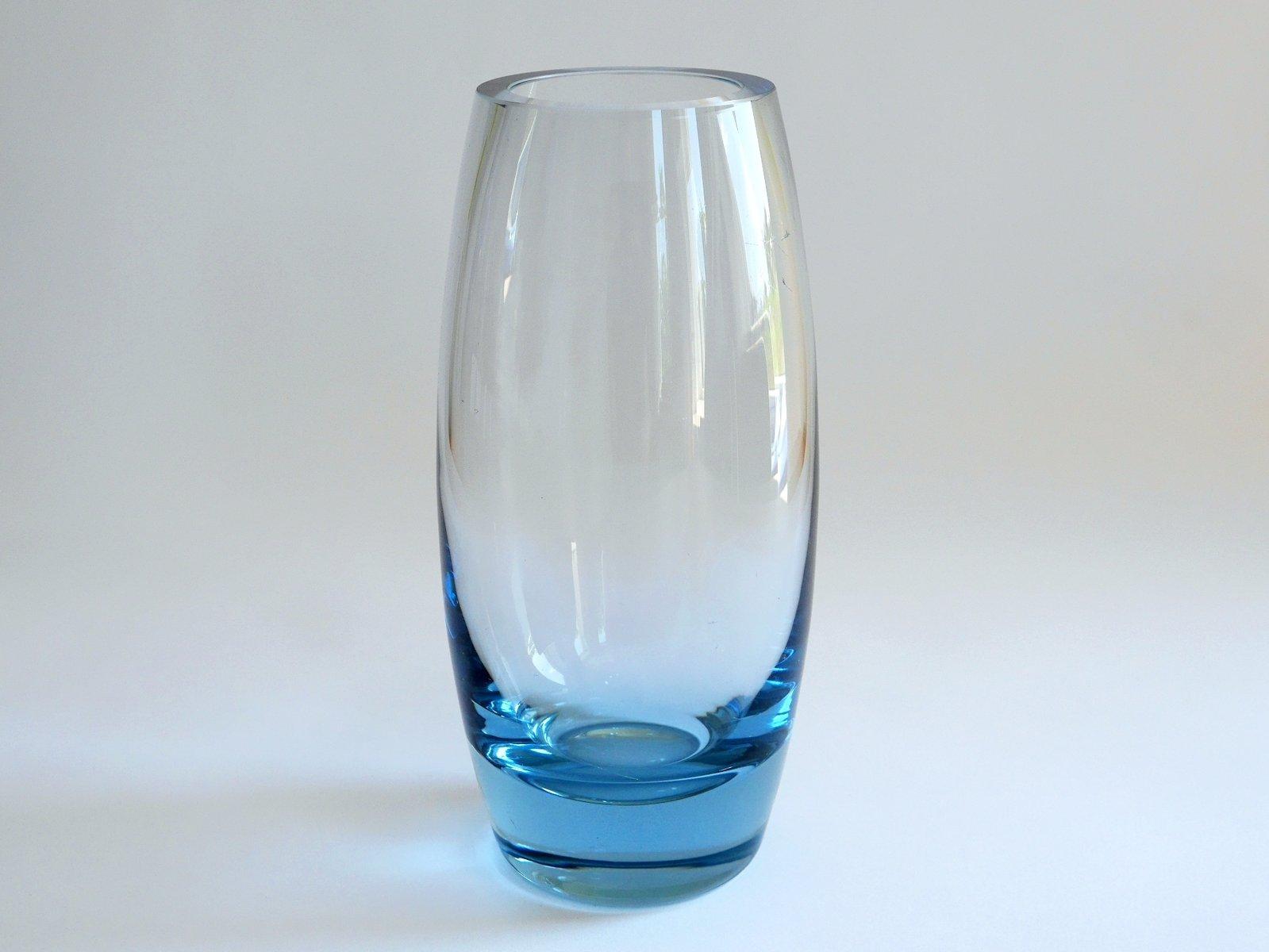 torpedovase vase by per l tken for holmegaard 1960 for. Black Bedroom Furniture Sets. Home Design Ideas