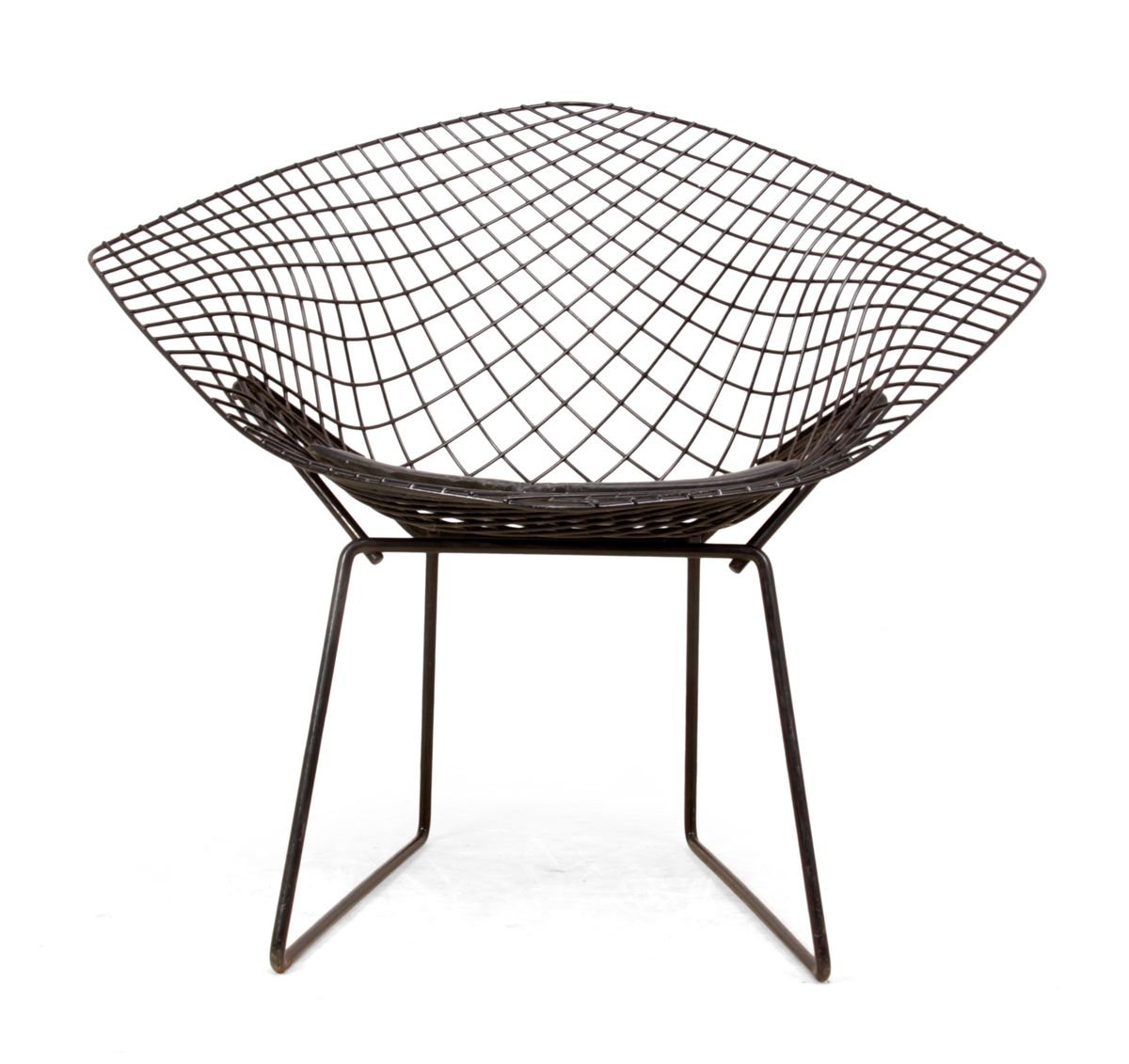 Chaise diamond par harry bertoia 1960s en vente sur pamono for Bertoia chaise prix