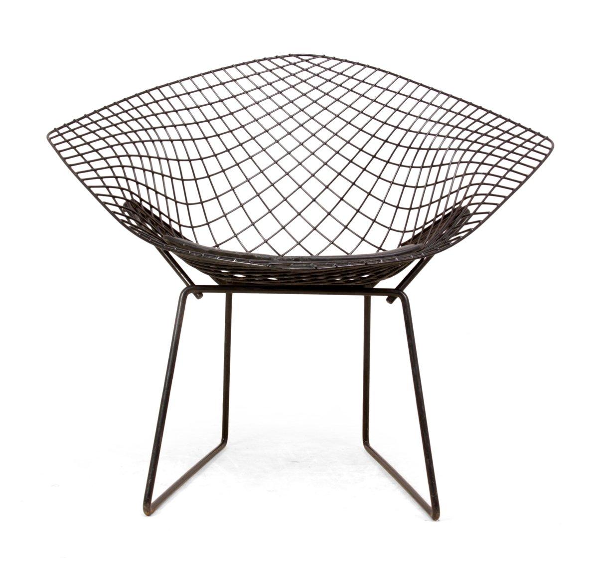 chaise diamond par harry bertoia 1960s en vente sur pamono. Black Bedroom Furniture Sets. Home Design Ideas