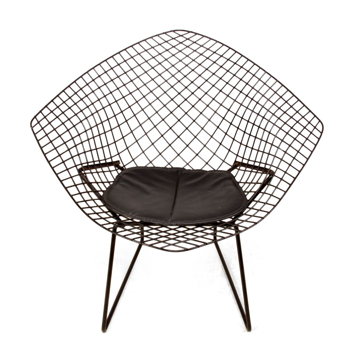 diamond chair by harry bertoia 1960s for sale at pamono. Black Bedroom Furniture Sets. Home Design Ideas