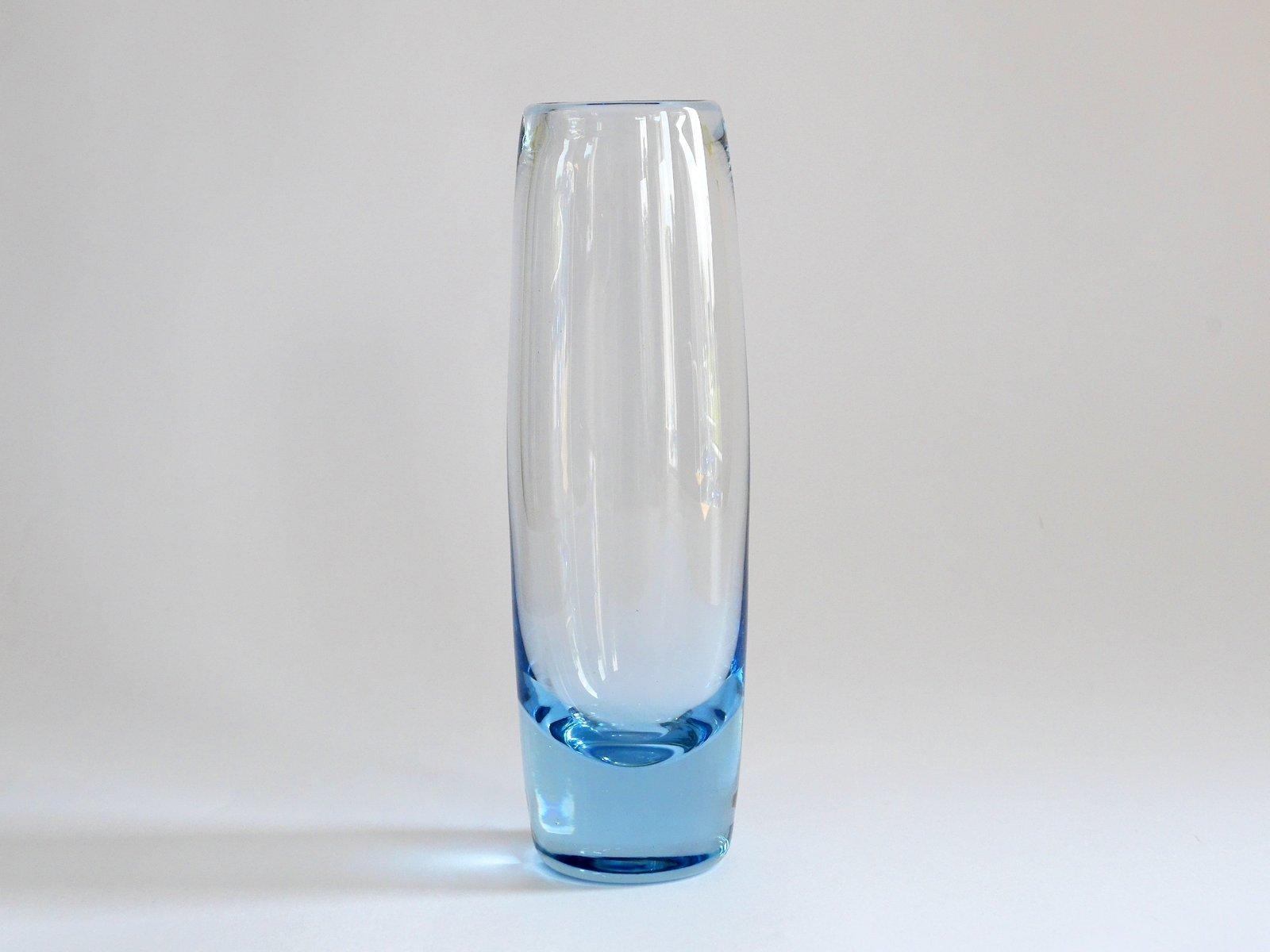 vintage cylindrical danish akva vase by per l tken for. Black Bedroom Furniture Sets. Home Design Ideas