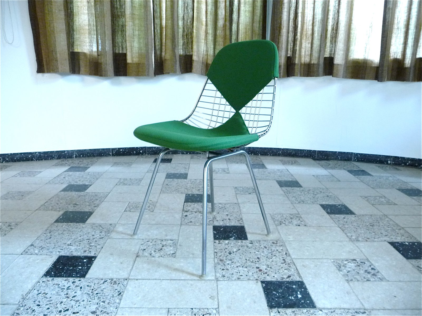 Chair wire chairs missing cover - Dkx Wire Bikini Chair By Charles U0026 Ray Eames For Herman Miller