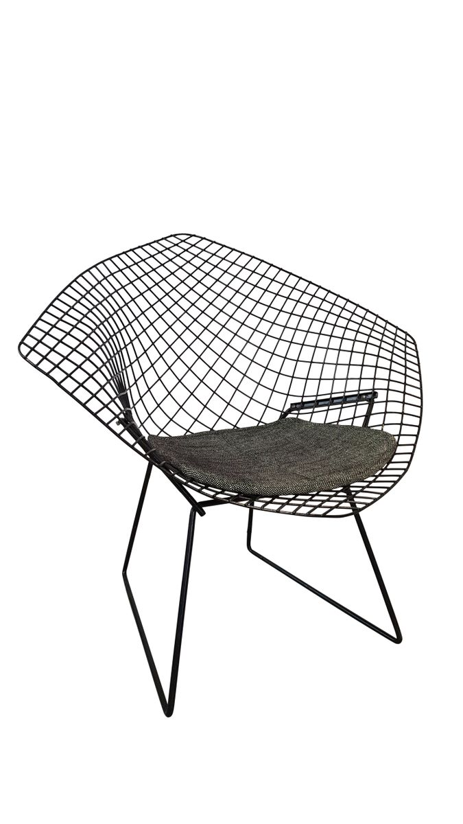 Bertoia diamond chair black - Black Diamond Chair By Harry Bertoia For Knoll 1950s For Sale At Pamono