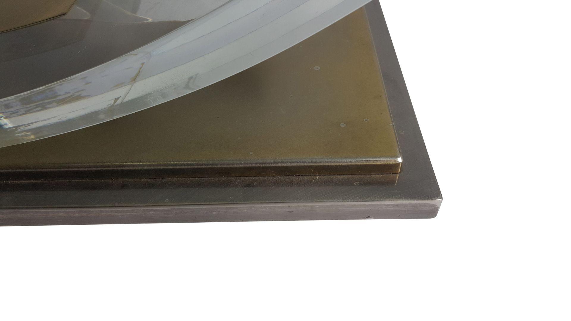Vintage plexiglas couchtisch von hollis jones f r belgo for Couchtisch plexiglas