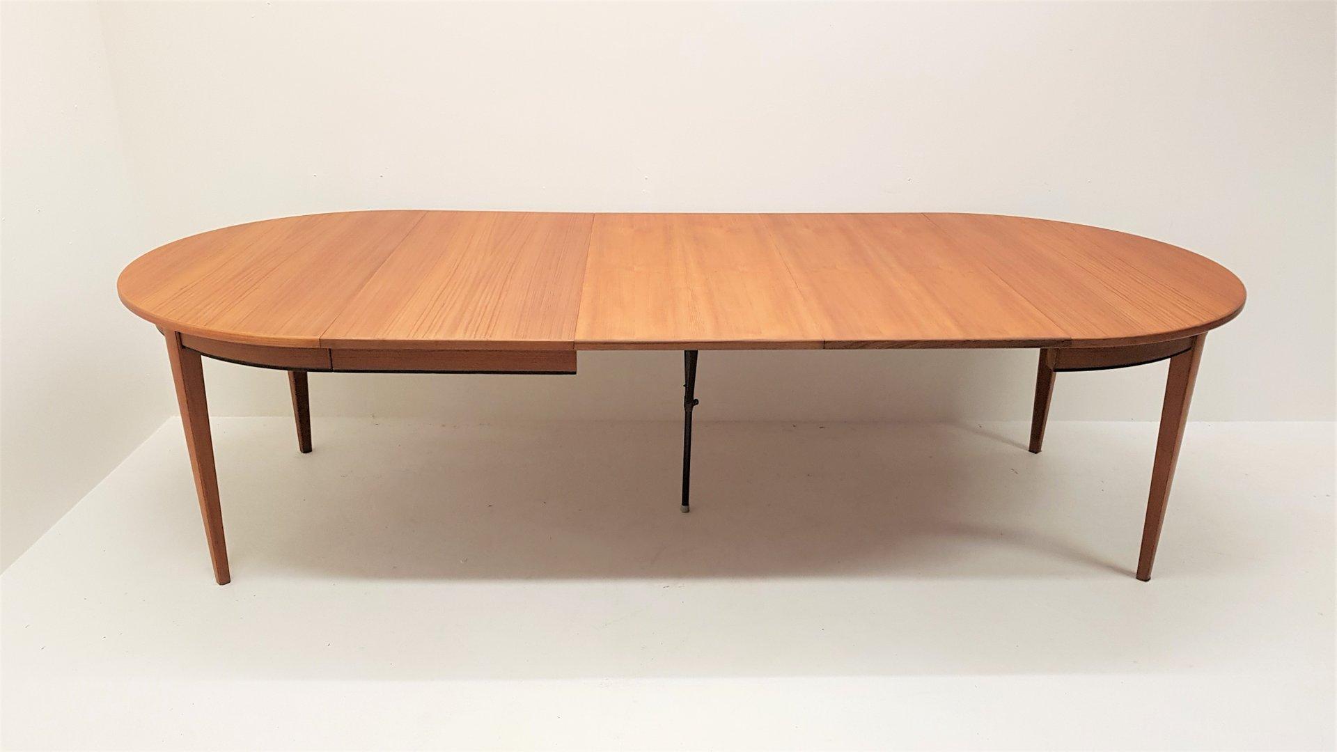 Danish Model 55 Teak Dining Table from Omann Jun for sale  : danish model 55 teak dining table from omann jun 1 from www.pamono.com size 1920 x 1080 jpeg 65kB