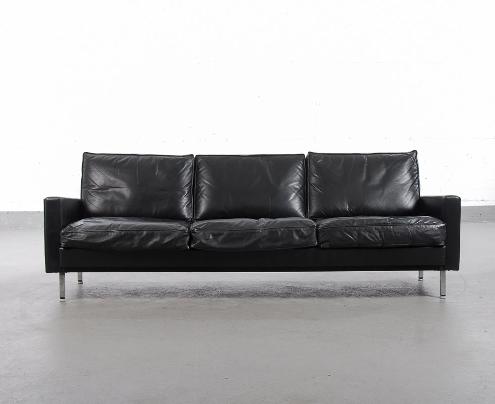 vintage drei sitzer sofa zwei sessel von george nelson. Black Bedroom Furniture Sets. Home Design Ideas
