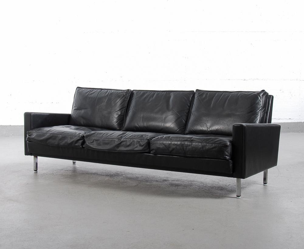 vintage drei sitzer sofa zwei sessel von george nelson f r herman miller bei pamono kaufen. Black Bedroom Furniture Sets. Home Design Ideas