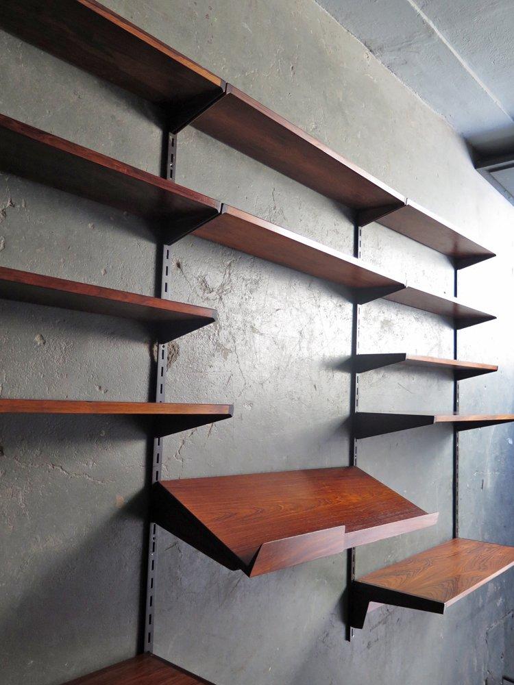 modulares vintage palisander regalsystem bei pamono kaufen. Black Bedroom Furniture Sets. Home Design Ideas