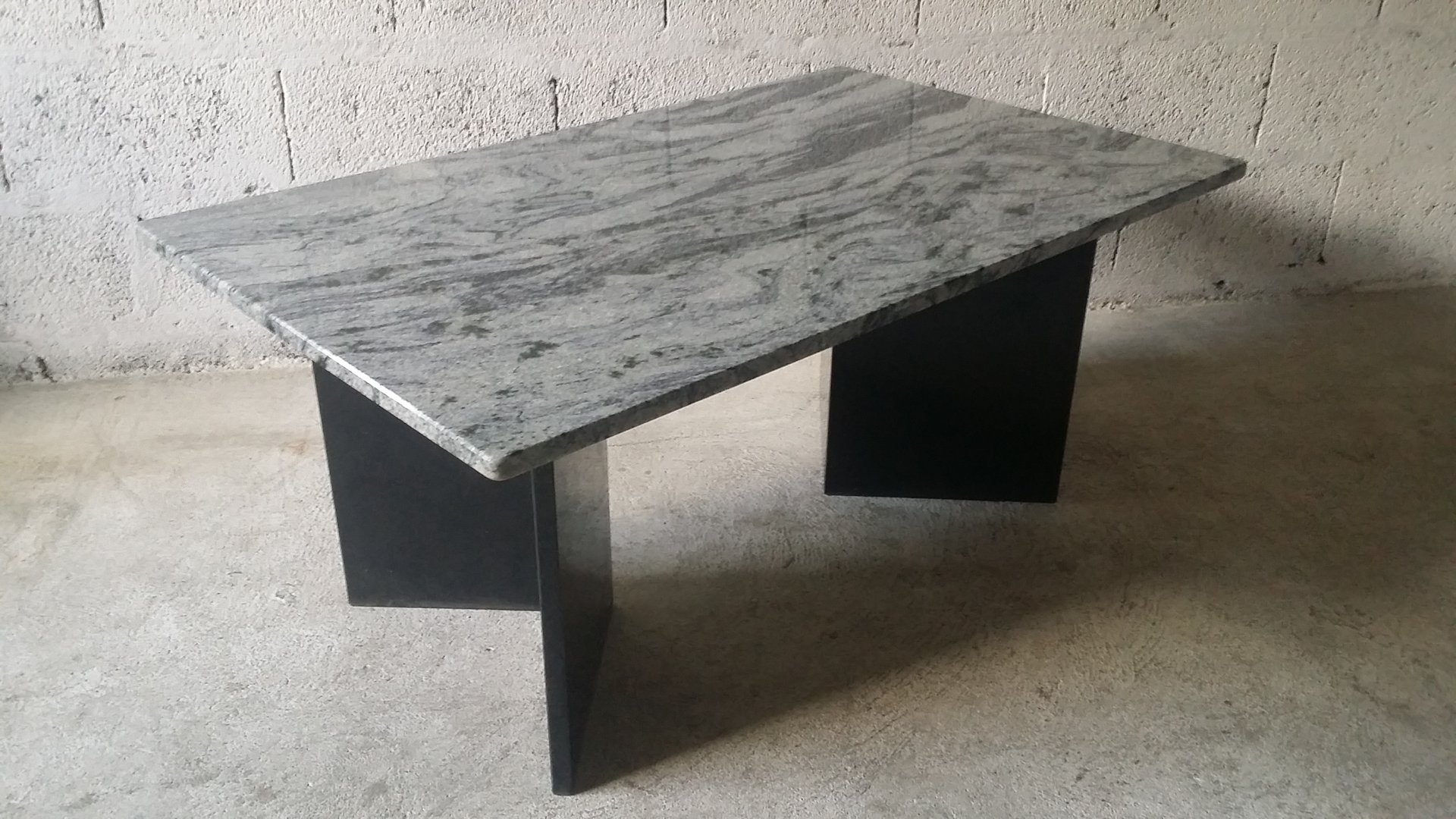 vintage marble coffee table for sale at pamono. Black Bedroom Furniture Sets. Home Design Ideas
