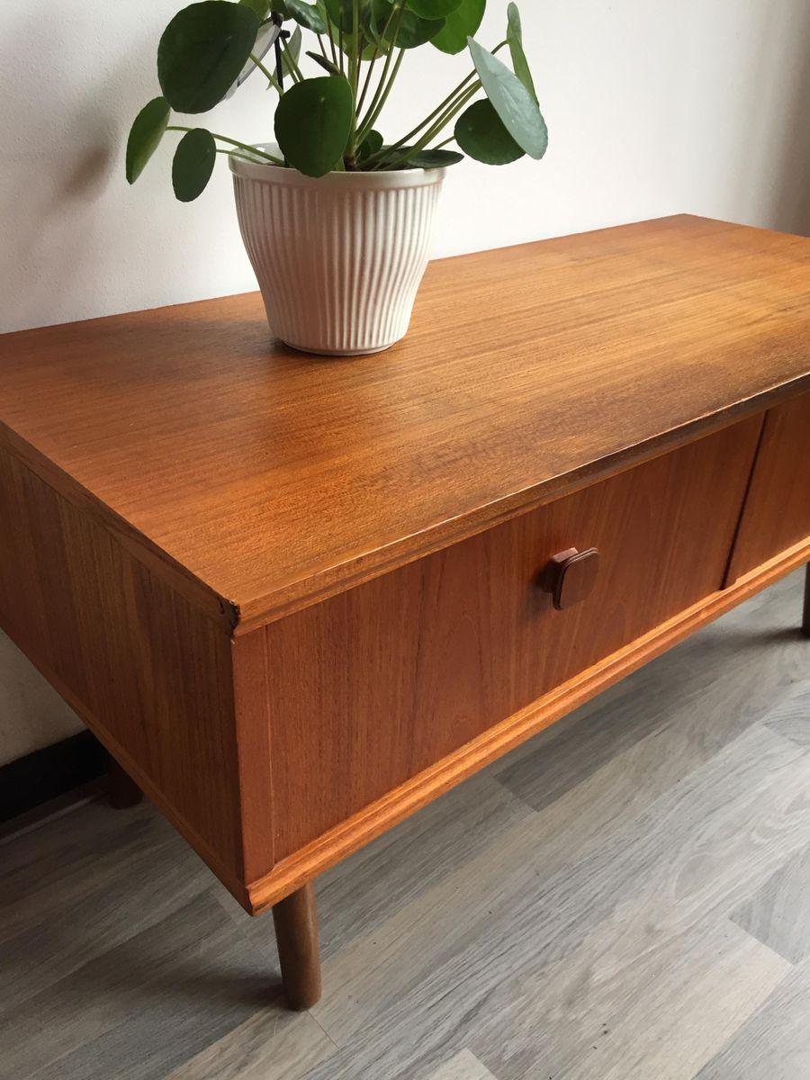 vintage swedish lowboard 1960s for sale at pamono. Black Bedroom Furniture Sets. Home Design Ideas