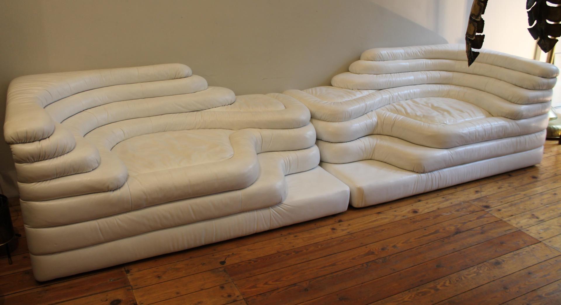 ds 1025 terrazza sofas by ubald klug for de sede 1970s. Black Bedroom Furniture Sets. Home Design Ideas