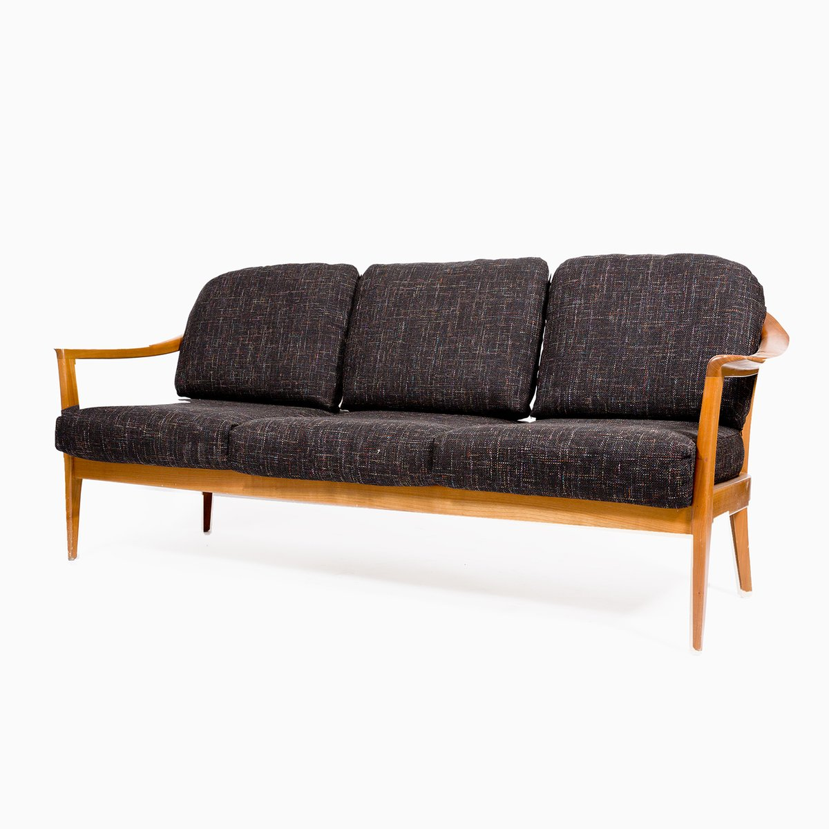 Vintage German Three Seater Sofa From Wilhelm Knoll 1960s For Sale At Pamono