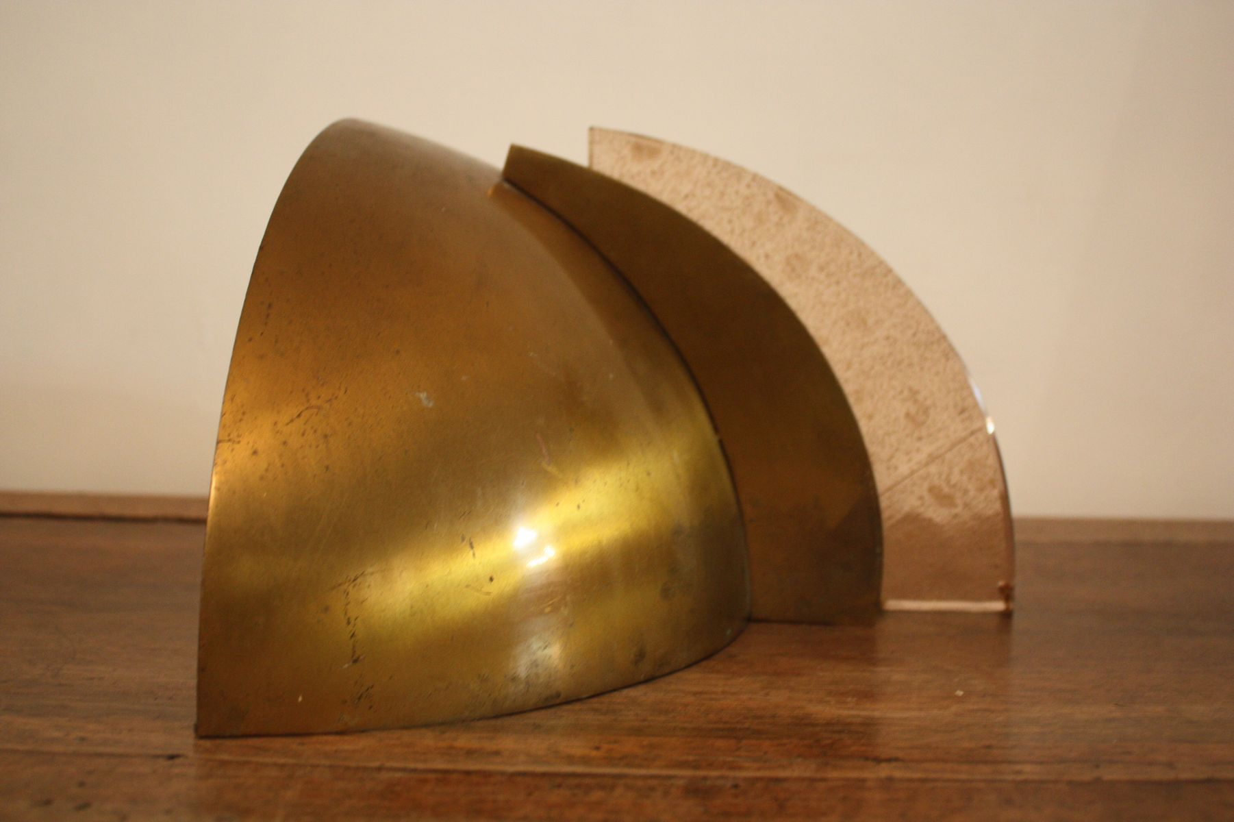 Large Art Deco Wall Sconces : Large Art Deco Wall Lights, 1930s, Set of 2 for sale at Pamono