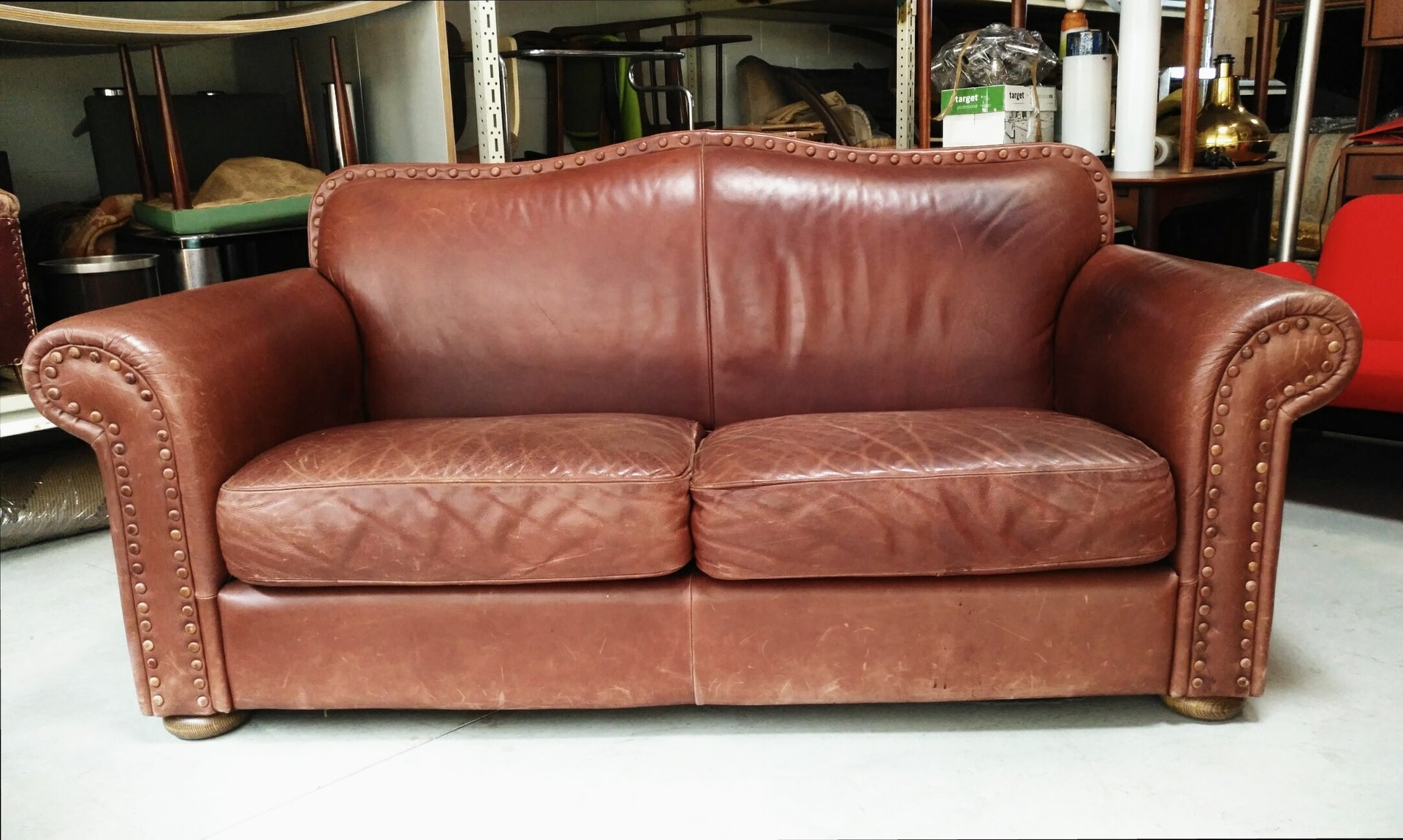 Italian leather sofa 1970s for sale at pamono Italian leather sofa uk