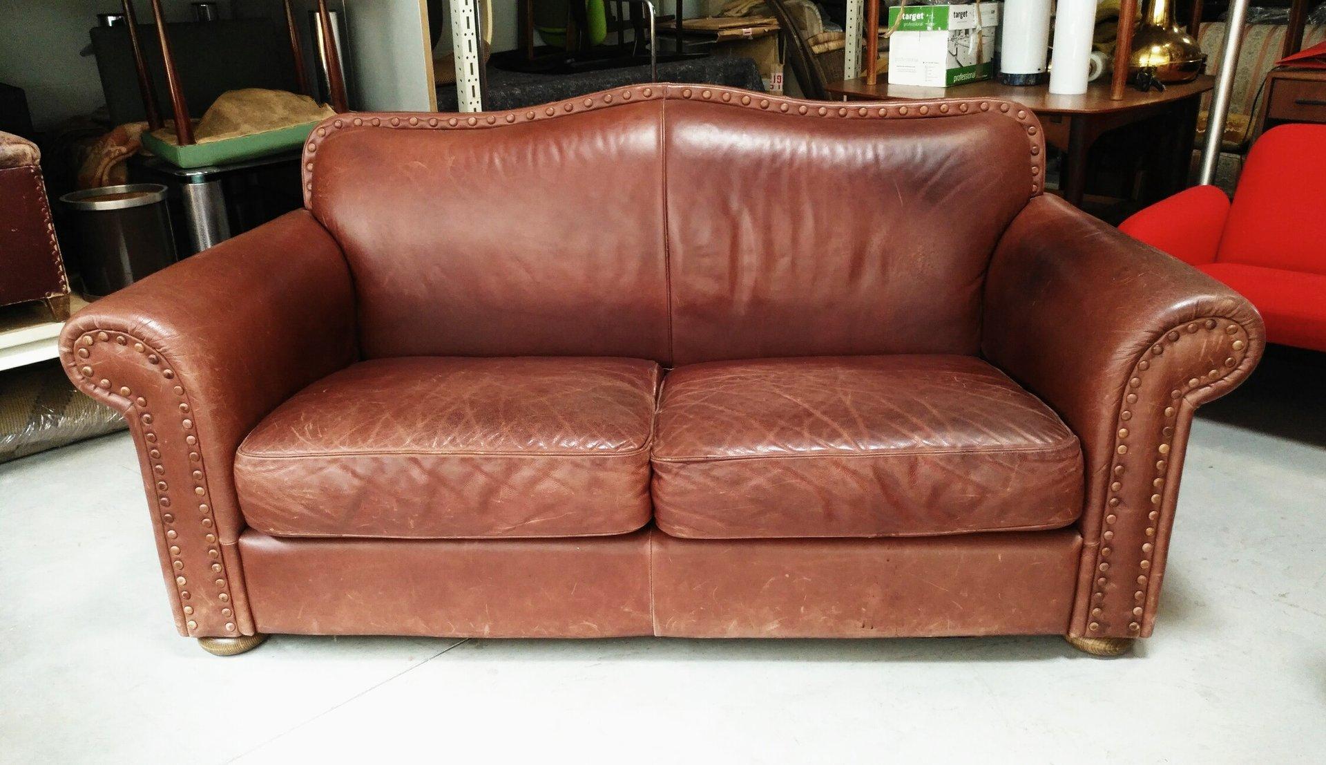 Italian Leather Sofa 1970s For Sale At Pamono
