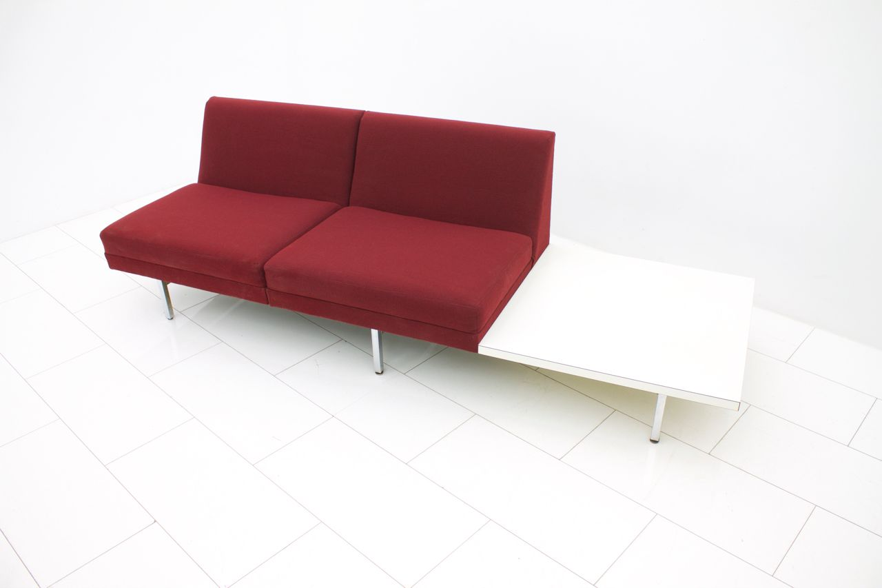 Modular Sofa With Table By George Nelson For Herman Miller
