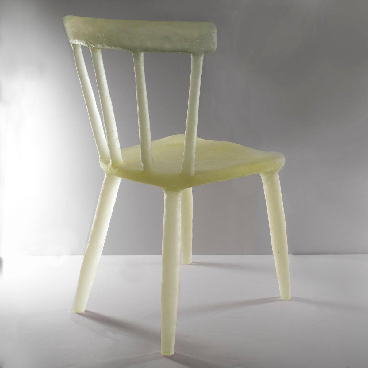 Gelber glow stuhl von kim markel 2017 bei pamono kaufen for Stuhl design 2017