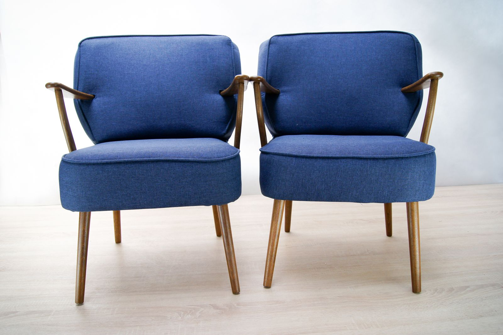 Blue german armchairs 1970s set of 2 for sale at pamono for 2 armchairs for sale