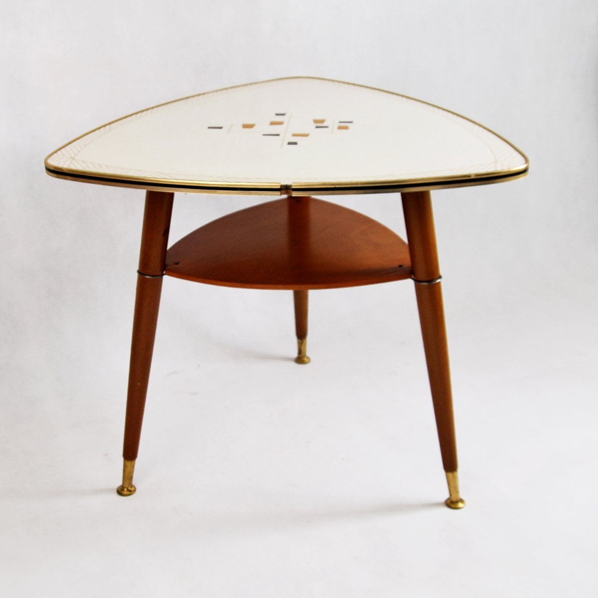Triangular German Coffee Table 1960s For Sale At Pamono
