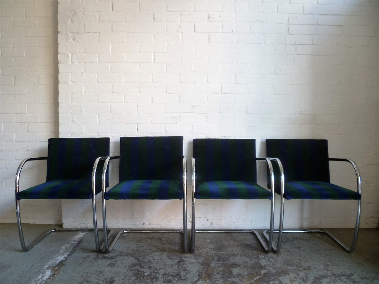 Vintage Brno Chair by Ludwig Mies van der Rohe Set of 4 for sale