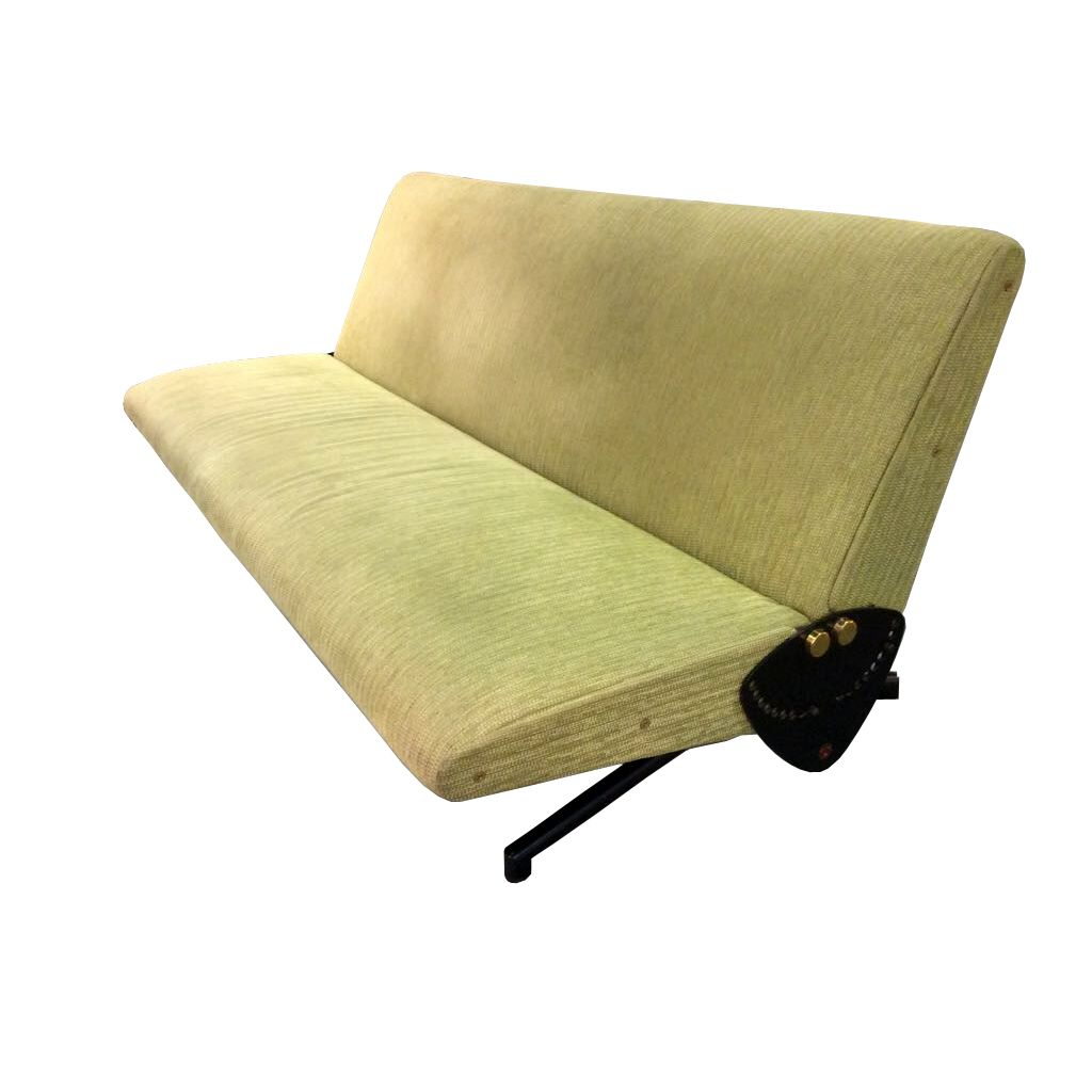 D70 sofa by osvaldo borsani for tecno 1954 for sale at pamono for Sofa 1 70 breit