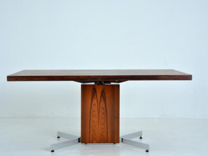 h henverstellbarer esstisch 1960er bei pamono kaufen. Black Bedroom Furniture Sets. Home Design Ideas