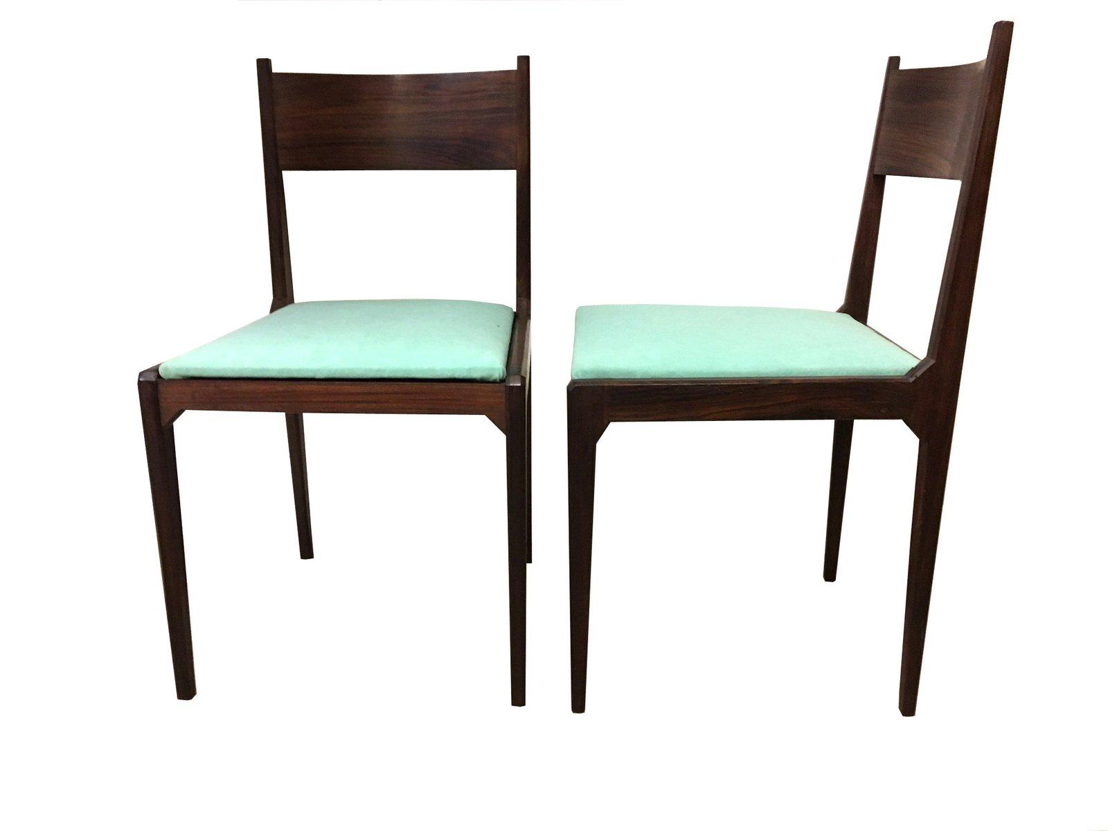 esszimmerst hle von isa bergamo 1960er 4er set bei. Black Bedroom Furniture Sets. Home Design Ideas