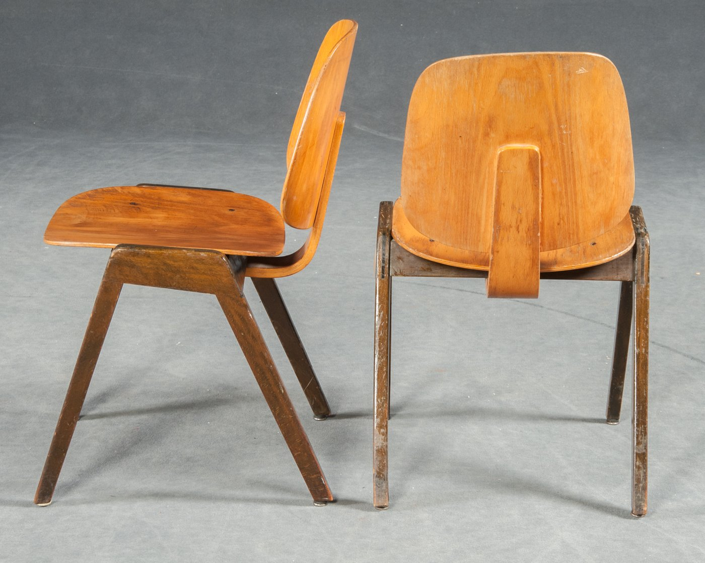 vintage bentwood chairs from thonet set of 3