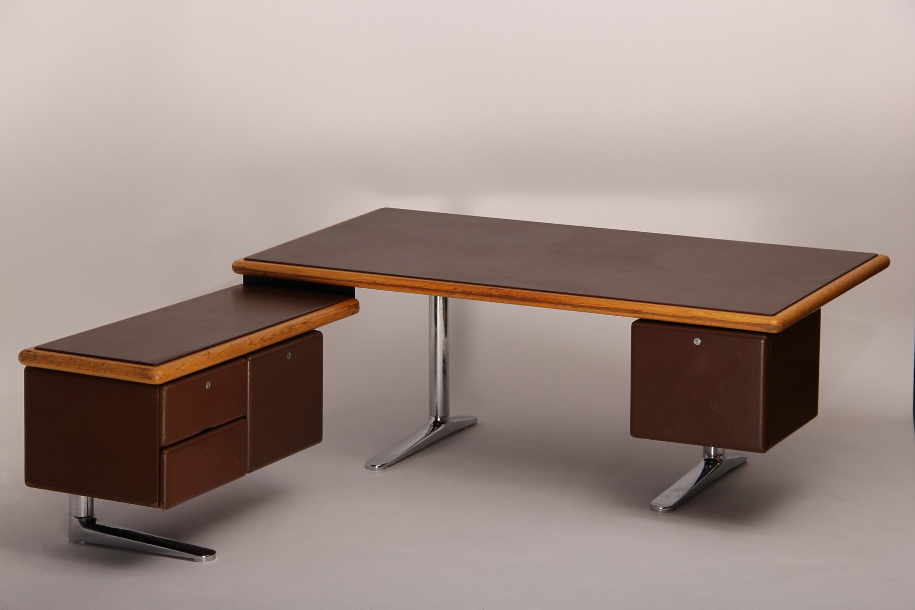 Vintage Executive Desk by Warren Platner for Knoll for sale at Pamono