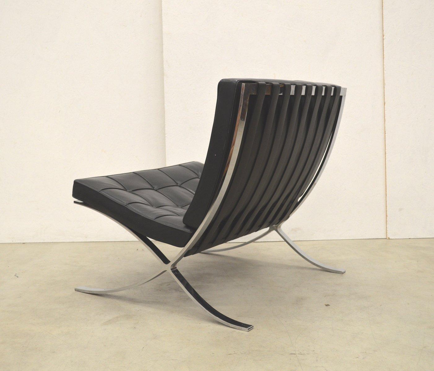 vintage barcelona stuhl von mies van der rohe f r knoll. Black Bedroom Furniture Sets. Home Design Ideas