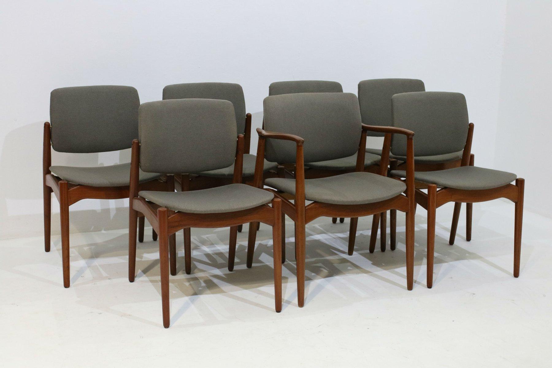 Chaises de salon fauteuil erik buch pour orum mobler for Chaise pour salon