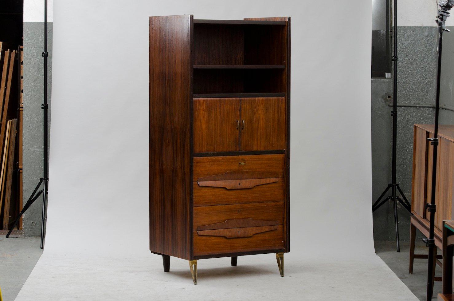 meuble haut vintage italie en vente sur pamono. Black Bedroom Furniture Sets. Home Design Ideas
