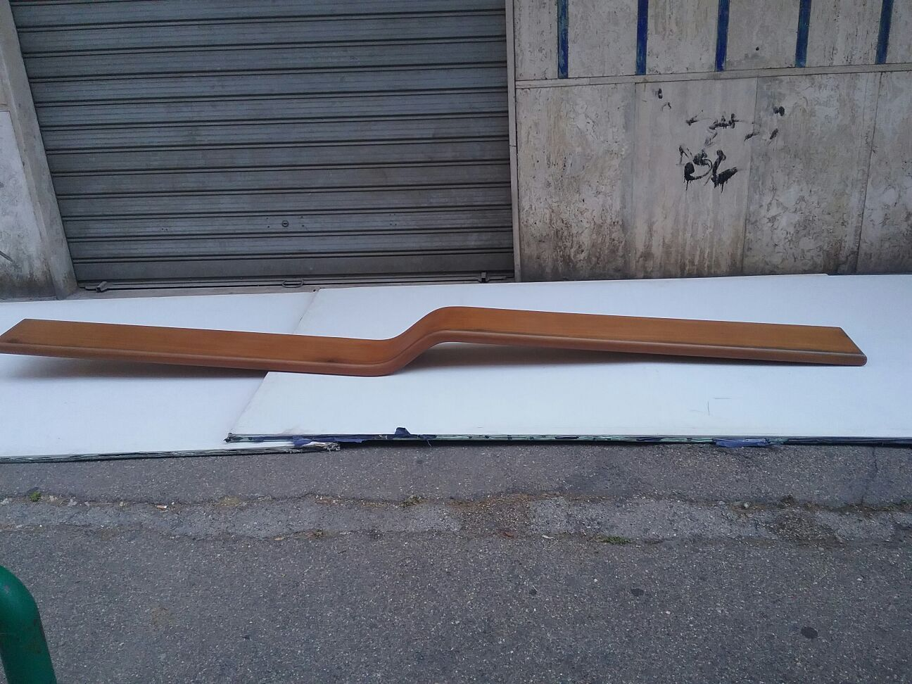 Large curved wall shelf 1960s for sale at pamono for Curved wall
