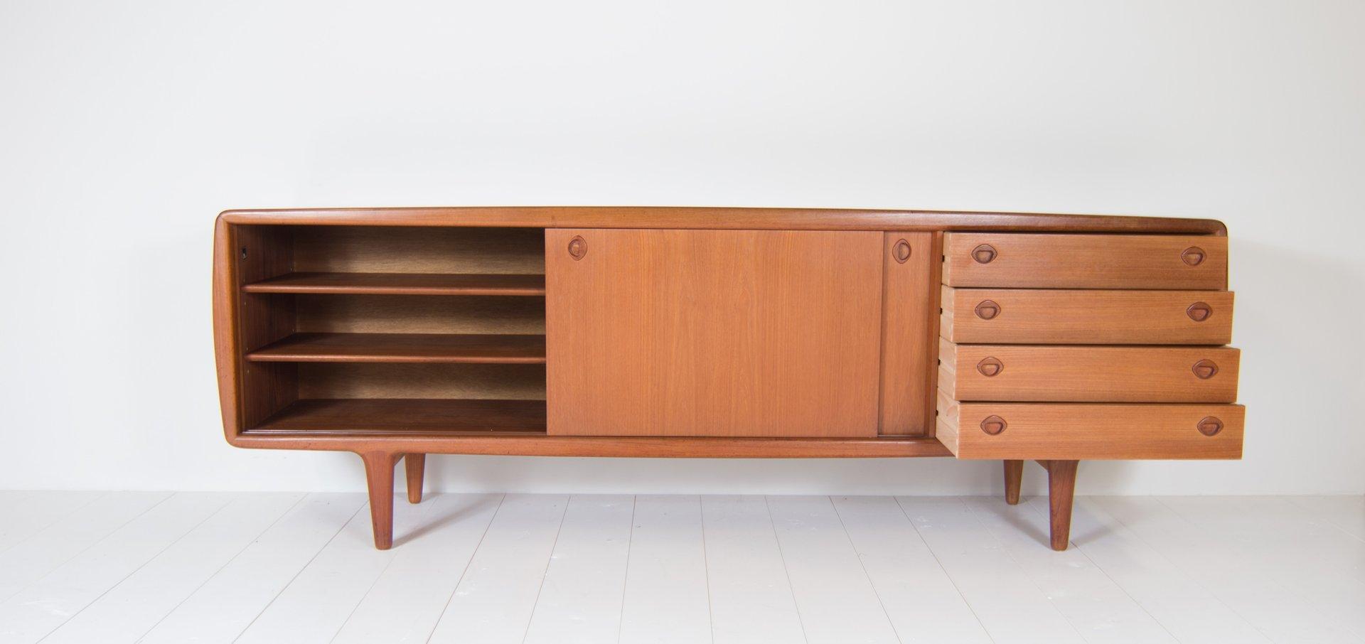 vintage sideboard von h p hansen 1960er bei pamono kaufen. Black Bedroom Furniture Sets. Home Design Ideas