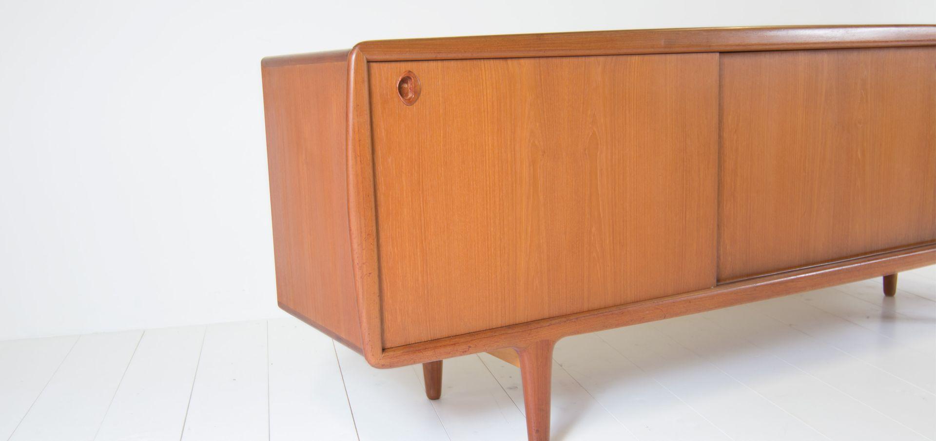 Vintage sideboard von h p hansen 1960er bei pamono kaufen for Sideboard 4 meter lang