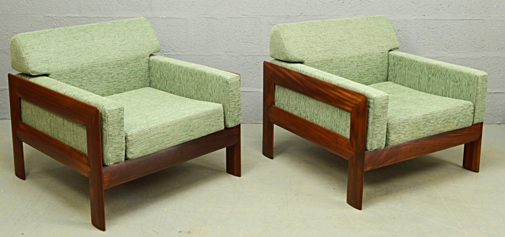Mid century danish teak three piece living room suite for for Living room suites for sale