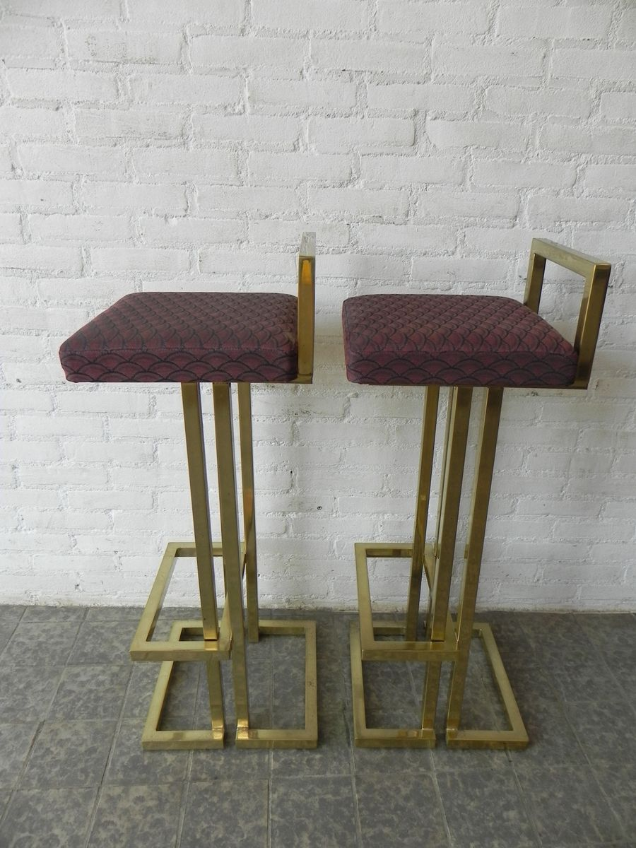 Vintage French Bar Stools 1970s Set Of 2 For Sale At Pamono