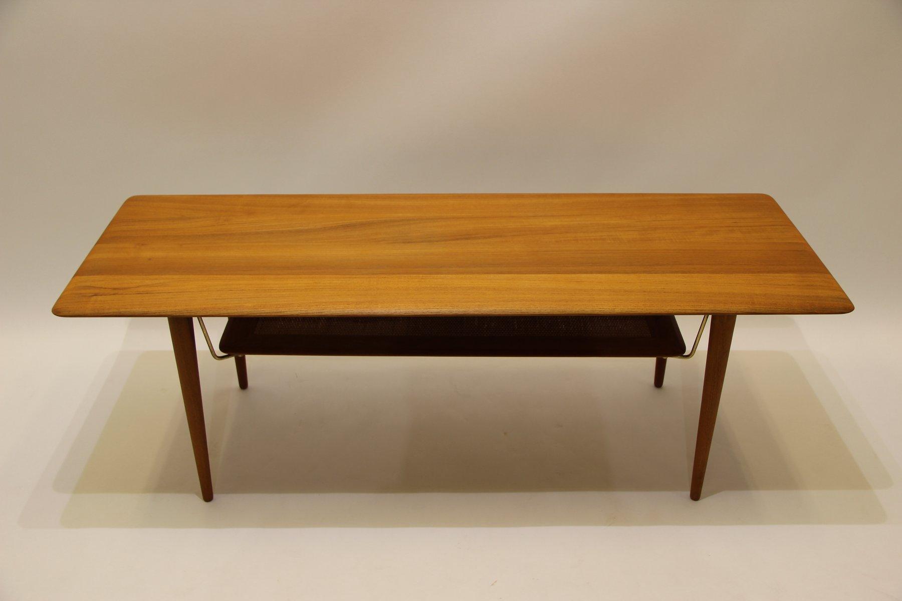 Vintage FD516 Coffee Table in Teak by Peter Hvidt & Orla M¸lgaard