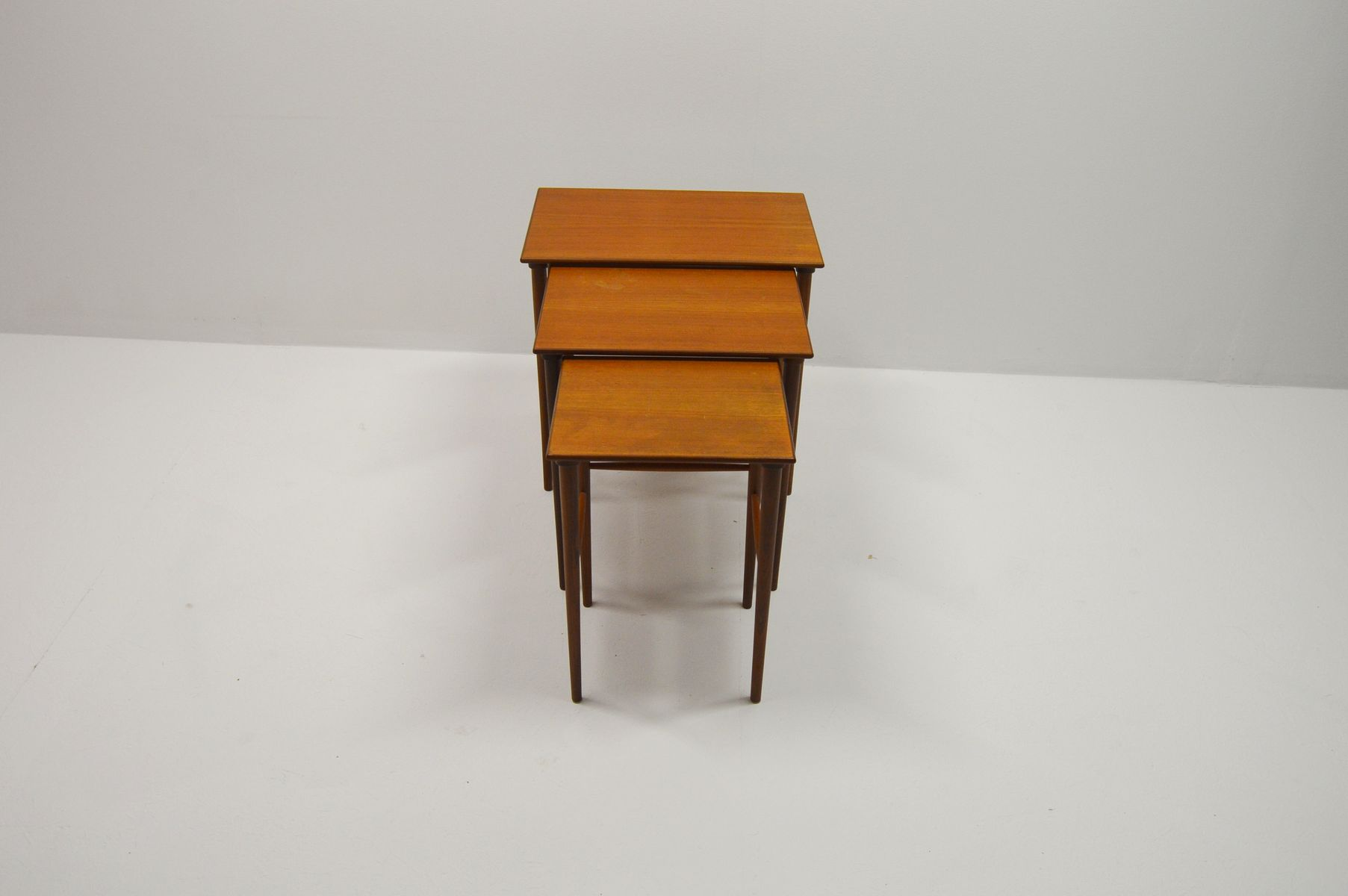 Vintage Danish Teak Nesting Tables For Sale At Pamono