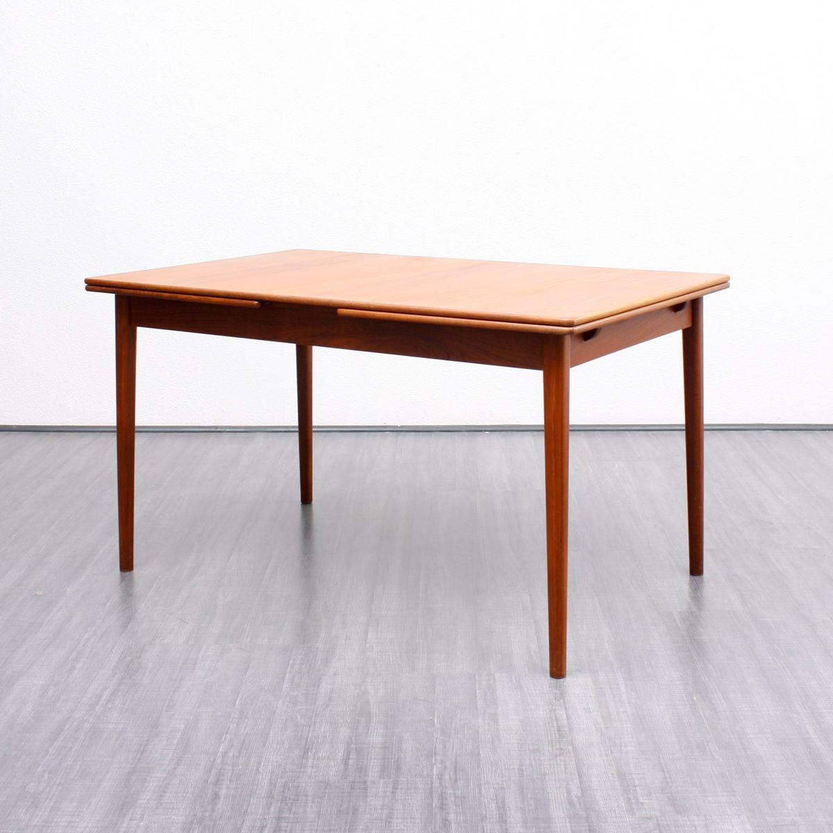 skandinavischer mid century teak esstisch von nils jonsson f r bra bohag bei pamono kaufen. Black Bedroom Furniture Sets. Home Design Ideas