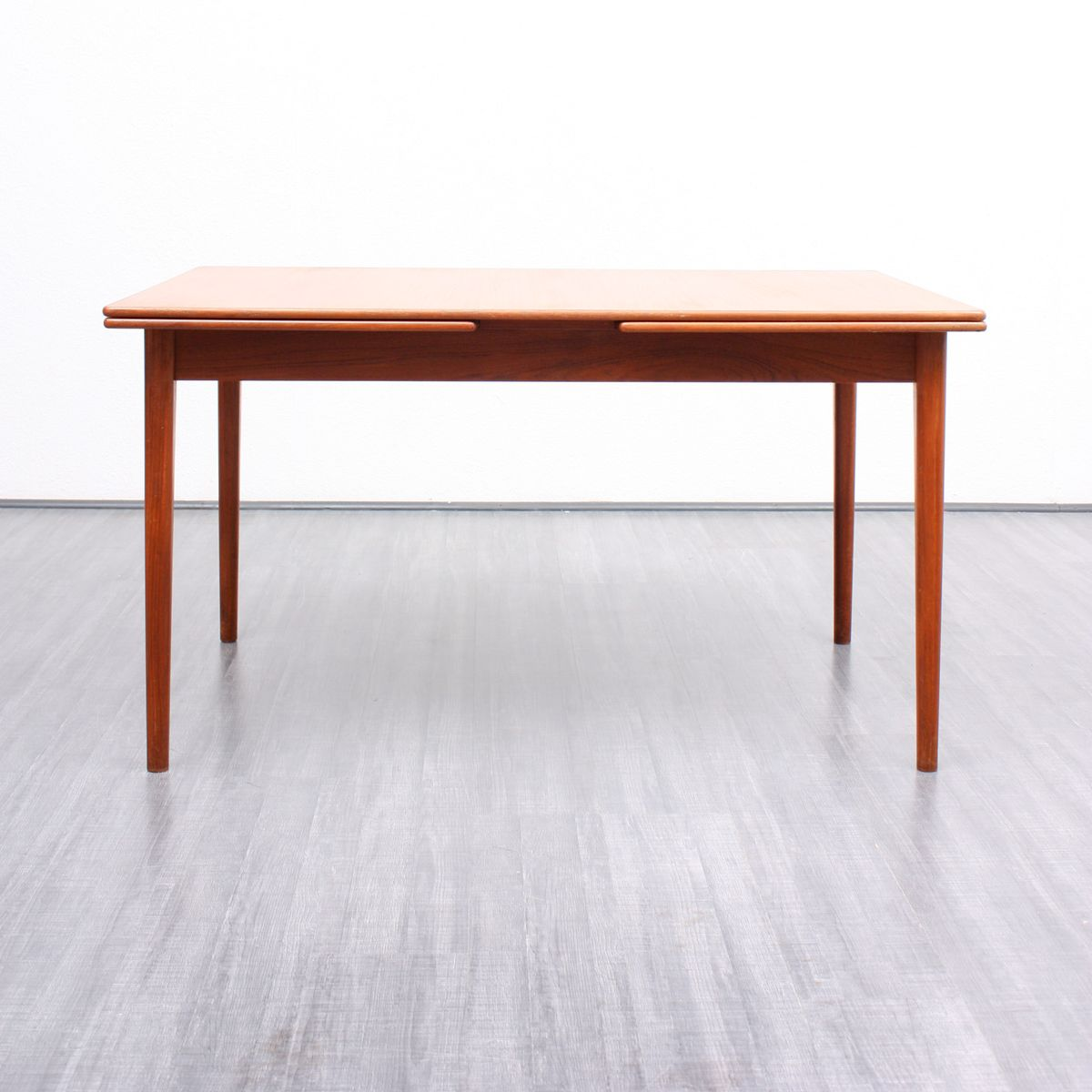 Mid century scandinavian teak dining table by nils jonsson for bra bohag for sale at pamono - Dining table scandinavian ...