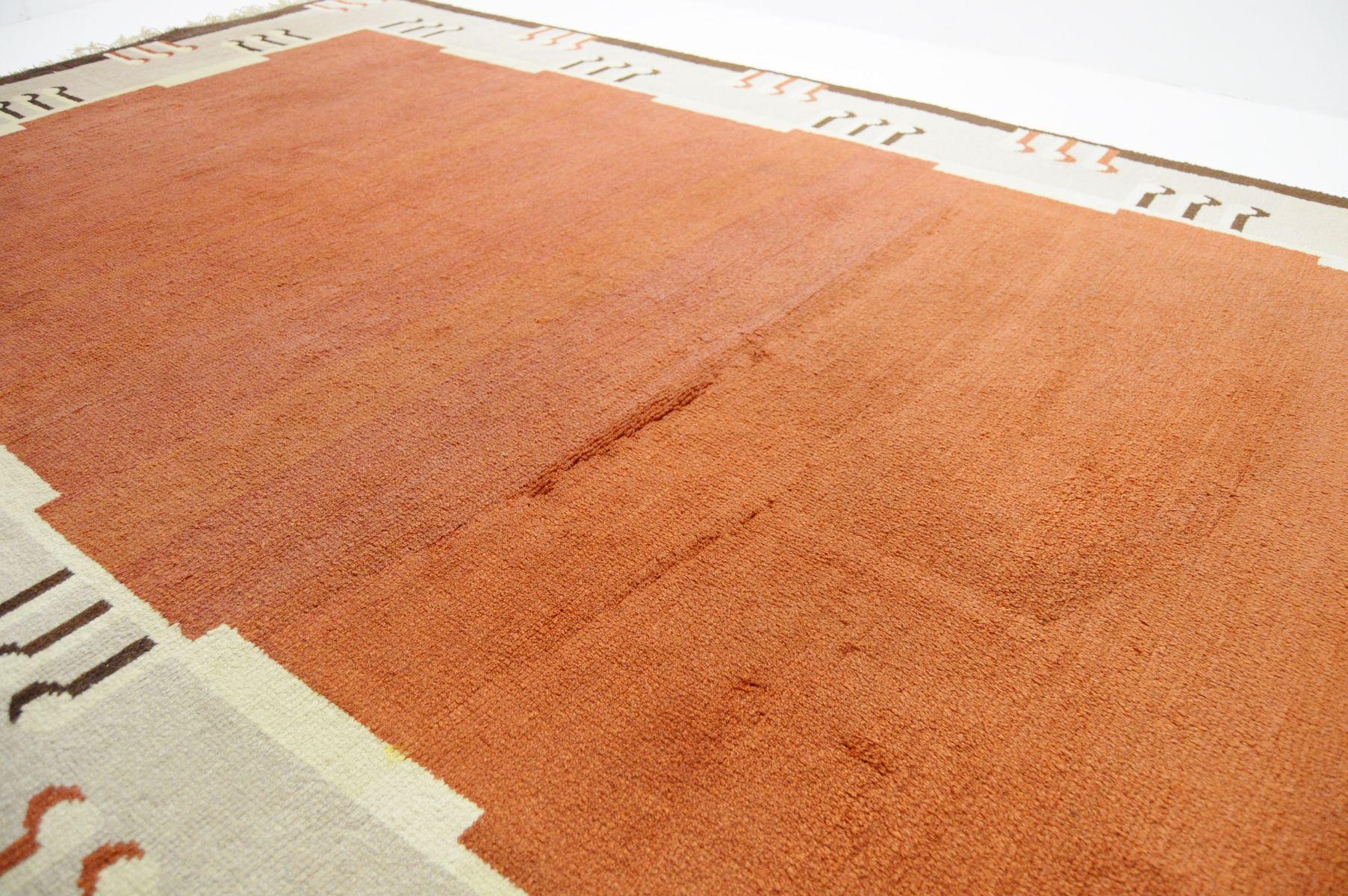 gro er art deco teppich bei pamono kaufen. Black Bedroom Furniture Sets. Home Design Ideas